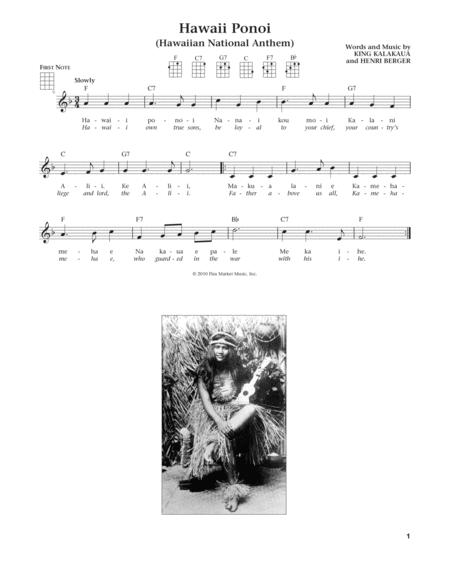 Hawaii Ponoi (from The Daily Ukulele) (arr. Liz and Jim Beloff)