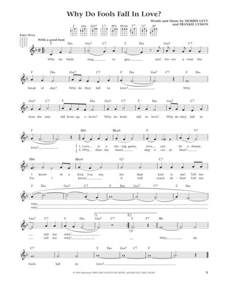 Why Do Fools Fall In Love (from The Daily Ukulele) (arr. Liz and Jim Beloff)