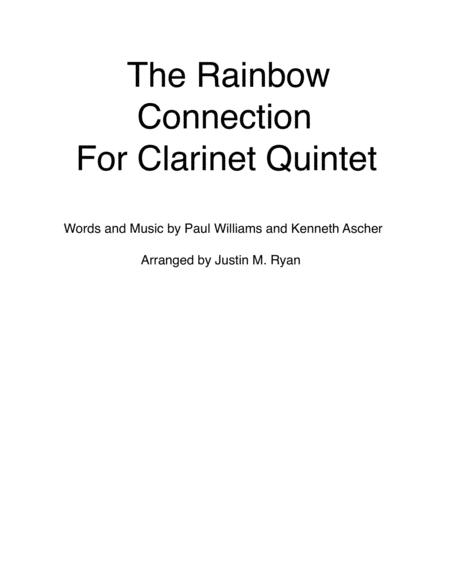 The Rainbow Connection - Clarinet Quintet