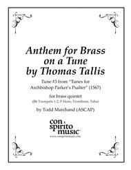 Anthem for Brass on a Tune by Thomas Tallis