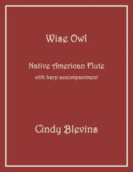 Wise Owl, arranged for Harp and Native American Flute