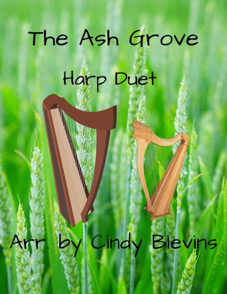 The Ash Grove, arranged for Harp Duet