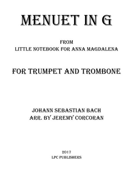 Menuet in G for Trumpet and Trombone