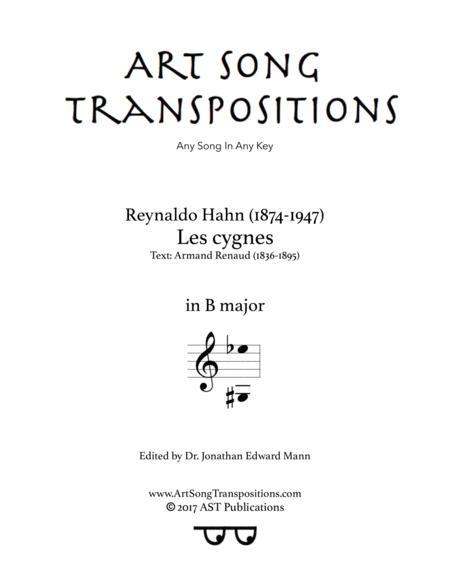Les cygnes (B major)