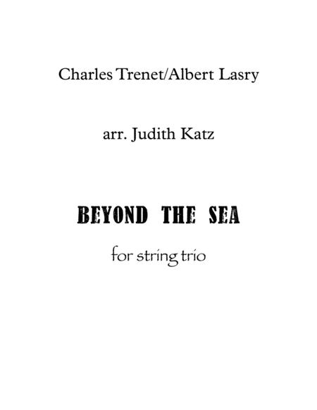 Beyond The Sea - for string trio