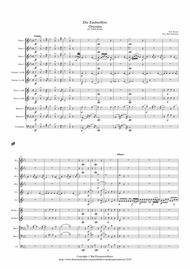 Mozart: Die Zauberflöte Overtüre (Overture to the Magic Flute) Kv620 - wind dectet (and bass)