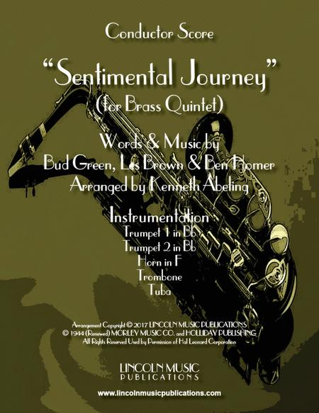 Sentimental Journey (for Brass Quintet)