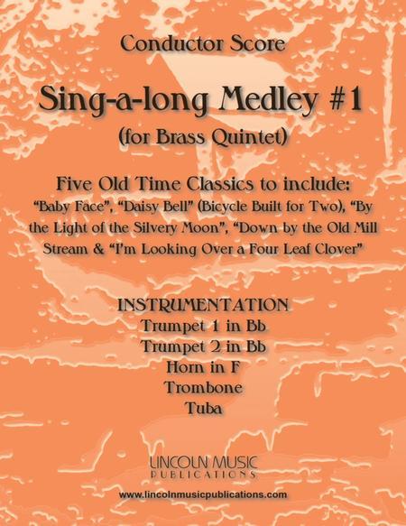 Sing-along Medley #1 (for Brass Quintet)