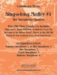 Sing-along Medley #1 (for Saxophone Quartet SATB or AATB)