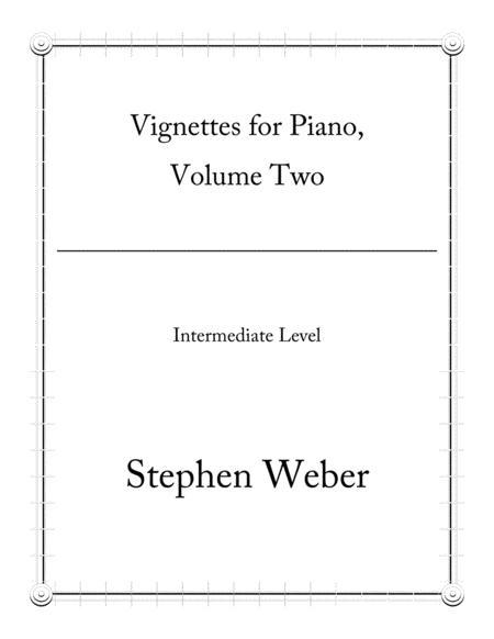 Vignettes for Piano Solo, Volume 2