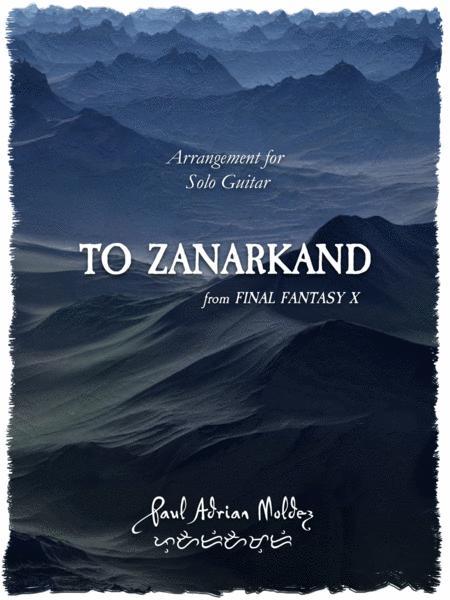 To Zanarkand (from Final Fantasy X)