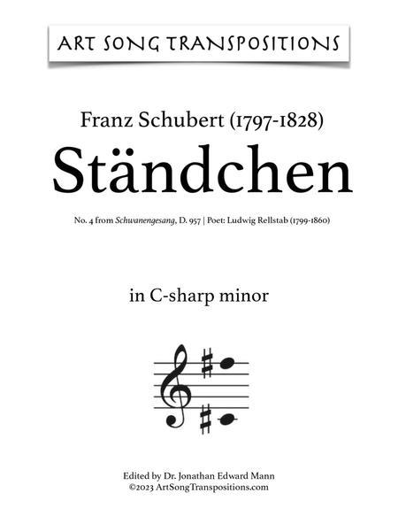 Ständchen, D. 957 (C-sharp minor)