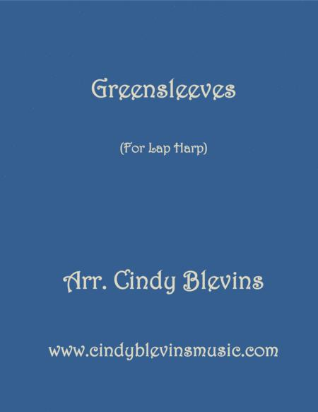 Greensleeves, arranged for Lap Harp
