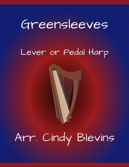 Greensleeves, arranged for Lever Harp