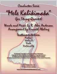 Mele Kalikimaka (for String Quartet)