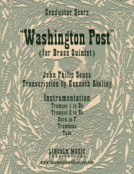 March - Washington Post March (for Brass Quintet)