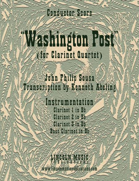 March - Washington Post March (for Clarinet Quartet)
