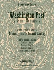March - Washington Post March (for Clarinet Quartet)