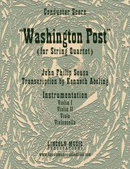 March - Washington Post March (for String Quartet)