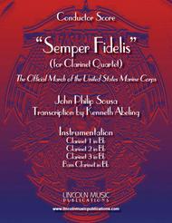 March - Semper Fidelis (for Clarinet Quartet)