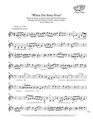 When I'm Sixty-Four - Solo Violin - the Beatles arr. Cellobat