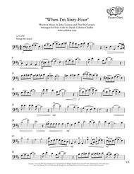 When I'm Sixty-Four - Solo Cello - the Beatles arr. Cellobat