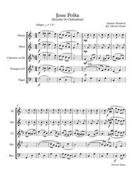 Jesse Polka for woodwind Quintet