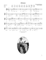 Always (from The Daily Ukulele) (arr. Liz and Jim Beloff)