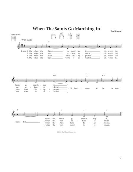 When The Saints Go Marching In (from The Daily Ukulele) (arr. Liz and Jim Beloff)