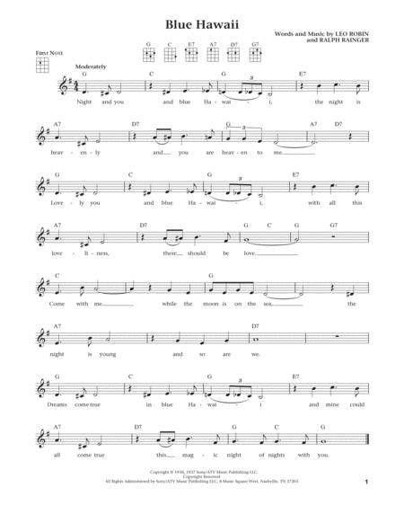 Blue Hawaii (from The Daily Ukulele) (arr. Liz and Jim Beloff)
