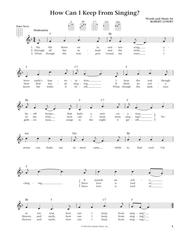 How Can I Keep From Singing (from The Daily Ukulele) (arr. Liz and Jim Beloff)