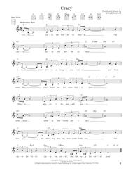 Crazy (from The Daily Ukulele) (arr. Liz and Jim Beloff)