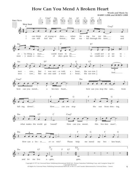 How Can You Mend A Broken Heart (from The Daily Ukulele) (arr. Liz and Jim Beloff)