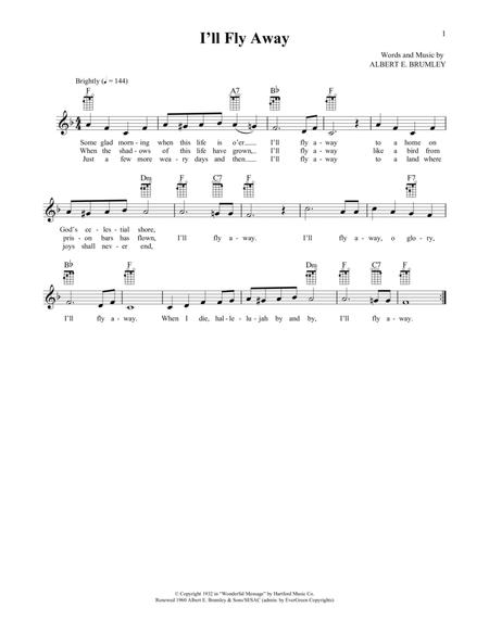 I'll Fly Away (from The Daily Ukulele) (arr. Liz and Jim Beloff)