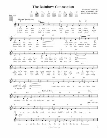 Download The Rainbow Connection From The Daily Ukulele Arr Liz