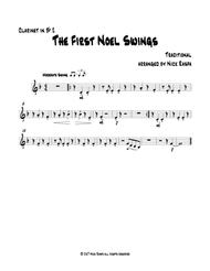 The First Noel Swings - Bb Clarinet 2 part