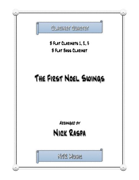 The First Noel Swings for Clarinet Quartet