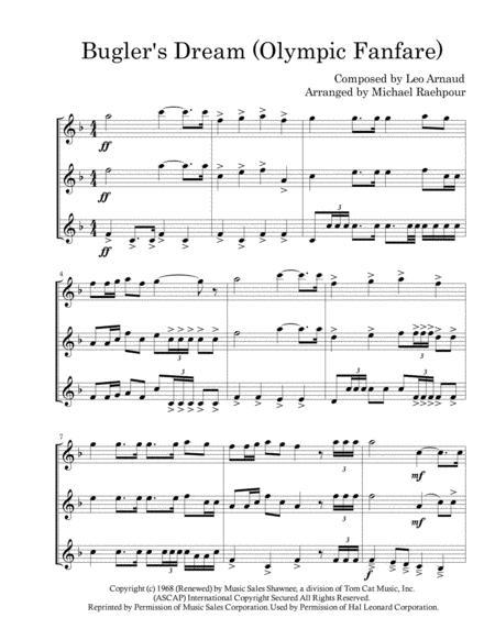 Bugler's Dream (Olympic Fanfare) - Trumpet Trio
