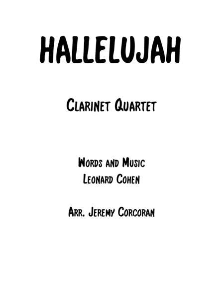 Hallelujah for Clarinet Quartet