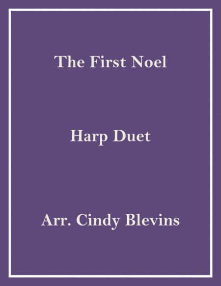 The First Noel, arranged for Harp Duet