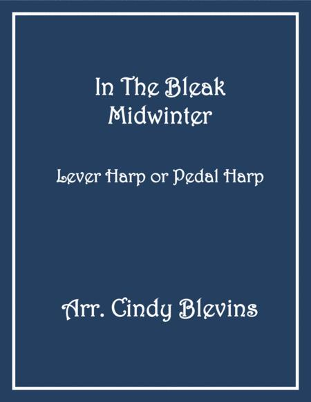 In the Bleak Midwinter, arranged for Lever or Pedal Harp, from my harp book