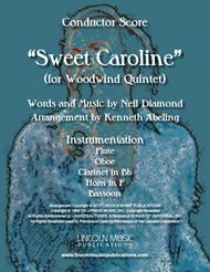 Sweet Caroline (for Woodwind Quintet)