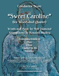 Sweet Caroline (for Woodwind Quartet)