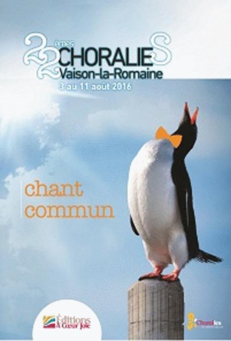 Chant Commun Xxii Choralies - 2016