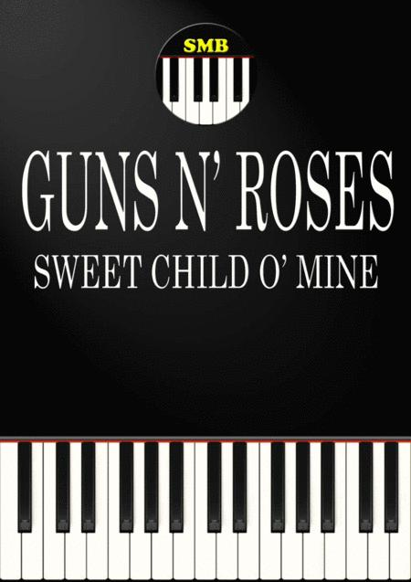 Download Sweet Child O Mine Piano Sheet Music By Guns N Roses