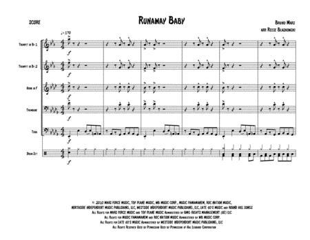 Runaway Baby - Brass Quintet