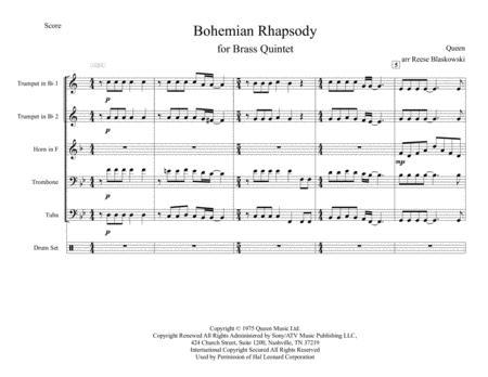 Bohemian Rhapsody - Brass Quintet