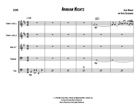 Arabian Nights - Brass Quintet
