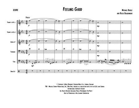 Feeling Good - Brass Quintet