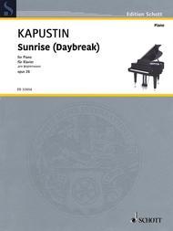 Sunrise (Daybreak) Op. 26